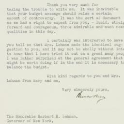 Letter : 1933 February 3