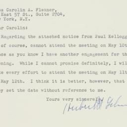 Letter : 1948 April 23