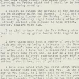 Letter : 1948 April 26