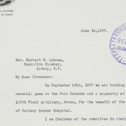Letter : 1937 June 14