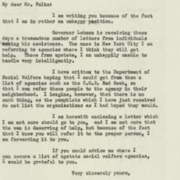 Letter: 1932 November 28