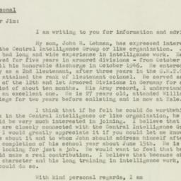 Letter : 1947 May 10