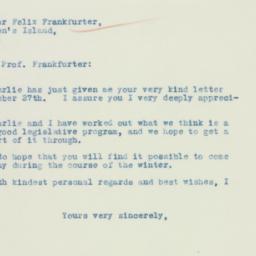 Letter : 1935 January 5