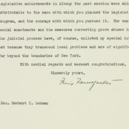 Letter: 1935 April 29