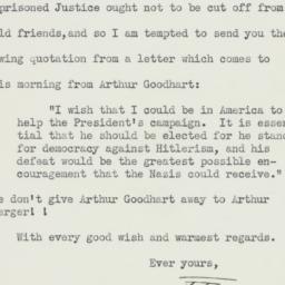Letter: 1940 October 4