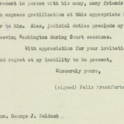 Letter: 1948 October 13