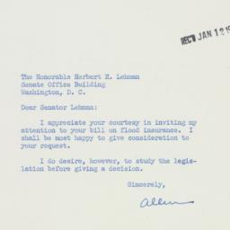 Letter : 1956 January 11