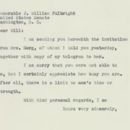 Letter : 1951 April 27