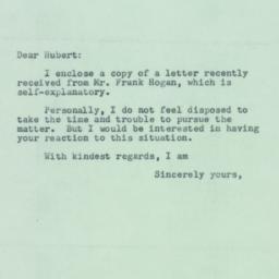 Letter : 1952 April 17