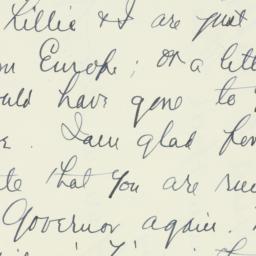 Letter : 1938 October 16