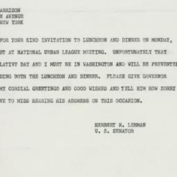 Telegram : 1952 January 10