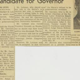 Clipping : 1962 May 2