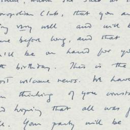 Letter : 1963 February 22