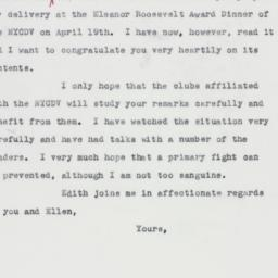 Letter : 1963 May 24