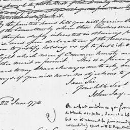 Document, 1774 July 20
