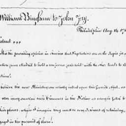 Document, 1782 August 14