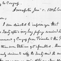 Document, 1784 January 05