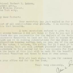 Letter : 1928 December 31