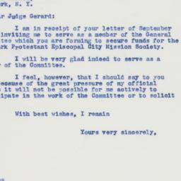 Letter: 1941 September 18
