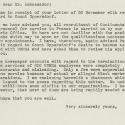 Letter : 1945 December 10
