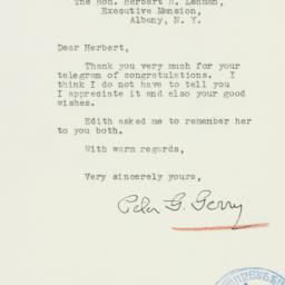 Letter : 1940 November 8