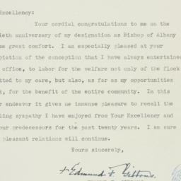 Letter : 1939 February 3
