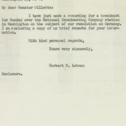 Letter: 1950 April 21
