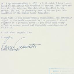 Memorandum : 1956 February 14