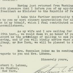 Letter : 1933 September 2