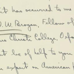 Letter : 1936 July 25