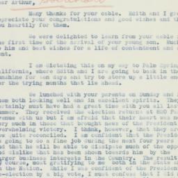 Letter : 1936 November 12