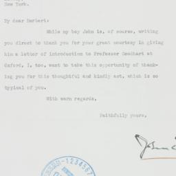 Letter : 1939 January 20