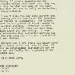 Letter : 1951 June 16