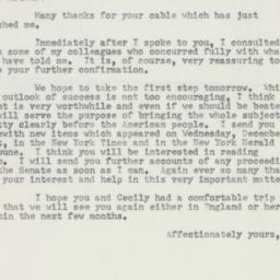 Letter : 1953 January 2