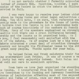Letter : 1953 January 17