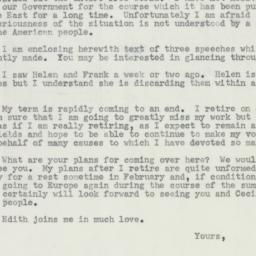 Letter : 1956 December 5
