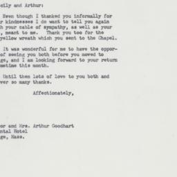 Letter : 1964 January 8