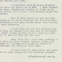 Letter : 1956 April 4