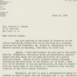 Letter : 1950 June 12