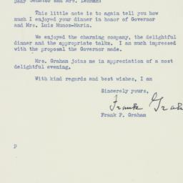 Letter : 1950 March 9