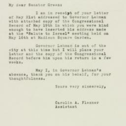 Letter: 1948 May 26