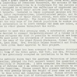 Letter : 1938 July 16