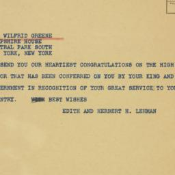 Telegram : 1941 June 17