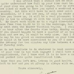 Letter : 1943 April 15