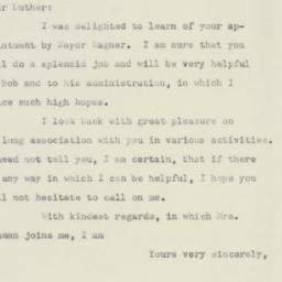 Letter : 1953 November 13