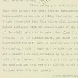 Memorandum: 1943 June 25