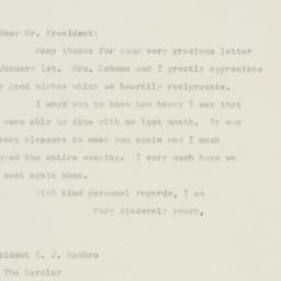 Letter : 1948 January 3