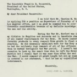 Letter : 1933 February 20
