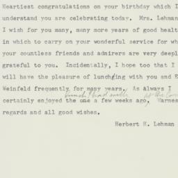 Letter : 1958 January 27