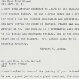 Letter : 1961 August 19